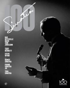 """Charles Pigone """"Sinatra 100"""". Das offizielle Buch zum Jubiläum. Verlag Edel Germany. 39,95 Euro"""